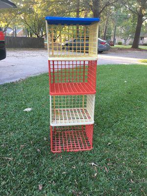 Plastic Cube Shelves for Sale in Chesapeake, VA