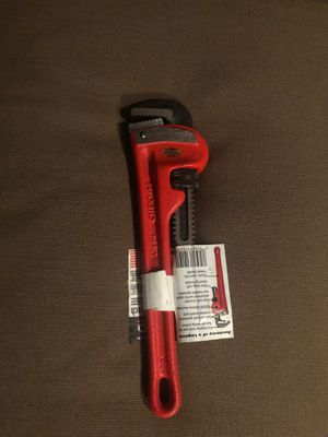 """Ridgid Pipe Wrench 10"""" for Sale in Niles, IL"""