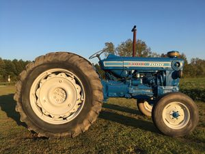 Ford 7000 diesel tractor with 7' bush hog for Sale in Suffolk, VA
