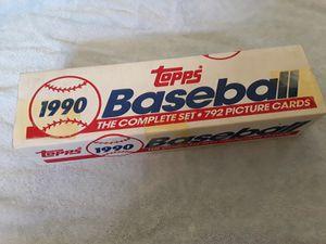 1990 Topps baseball card set. for Sale in Oceanside, CA