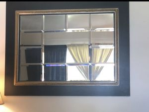 Mirror wall decore large for Sale in Dearborn Heights, MI