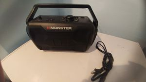 Monster Nomad Bluetooth wireless....new condition! for Sale in Las Vegas, NV