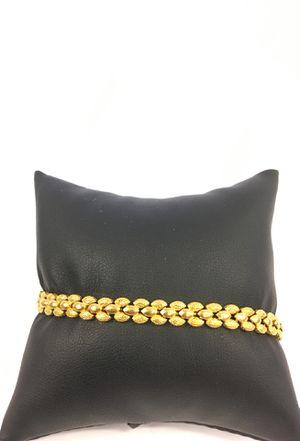 Ladies 21kt gold bracelet for Sale in Denver, CO