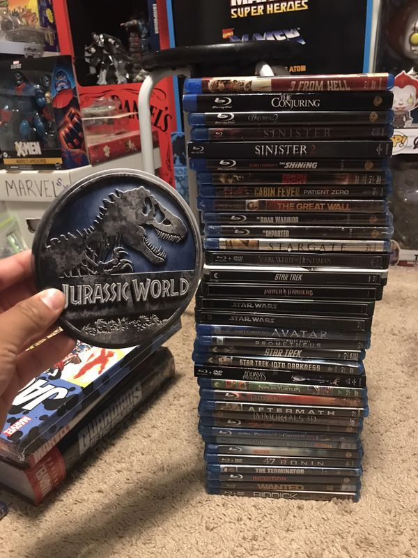 36 bluray movie lot