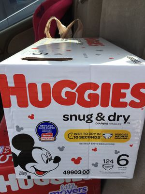 Huggies snug and dry size 6 for Sale in Phoenix, AZ