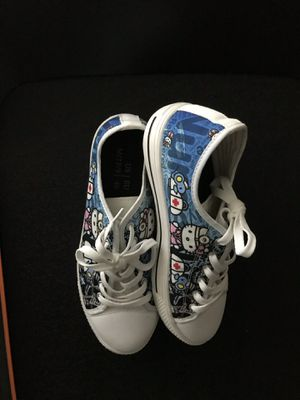 Hello kitty tennis shoes converse for Sale in San Diego, CA