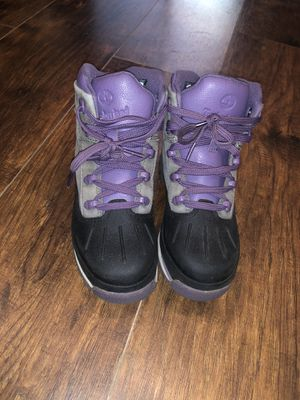 Timberland boots 3 youth for Sale in Buffalo, NY