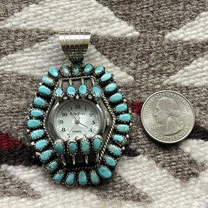 Vintage Navajo Watch Pendant for Sale in Scottsdale, AZ