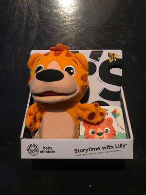Storytime with Lily - Plush Toy for Sale in Arlington, VA
