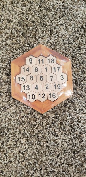 Wooden Puzzle Toy for Sale in Redlands, CA