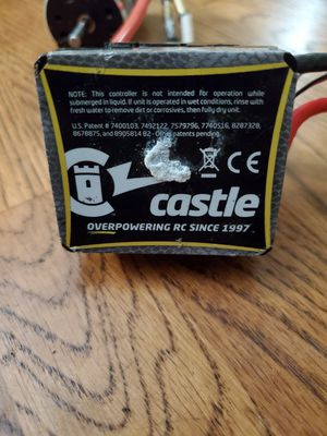 Castle ESC extreme Water proof for Sale in Sacramento, CA