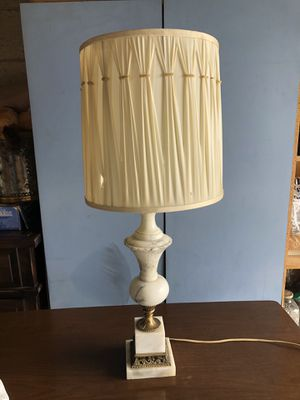 Antique marble table lamp for Sale in Culver City, CA