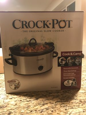 Crock Pot 6qt Slow Cooker for Sale in Redwood City, CA