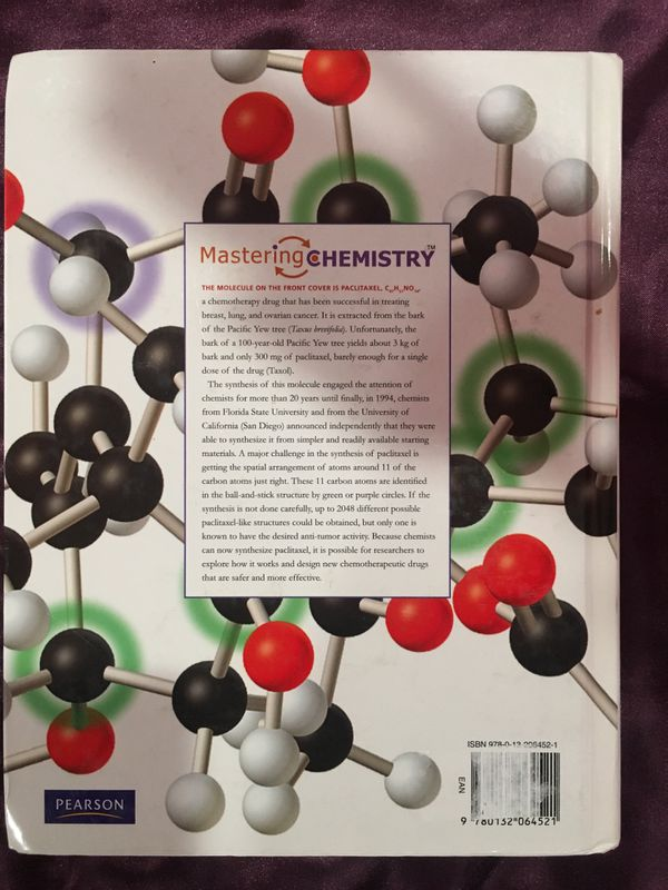 General Chemistry 10th edition IBSN 9780132064521
