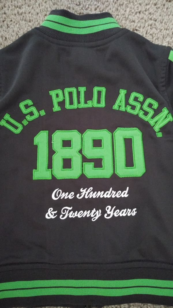 Beautiful U.S. Polo Jacket , toddler size 2 ( excellent condition )