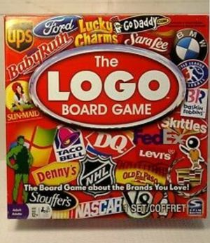 Like NEW!!! The Logo Board Game for Sale in San Antonio, TX