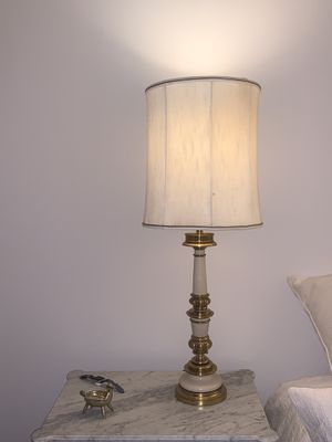 Two vintage Stiffle bronze lamps priced individually for Sale in Washington, DC