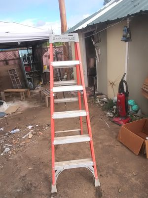 Louisville 6' A frame ladder for Sale in Fresno, CA