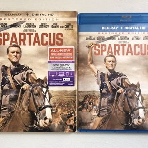 (LIKE NEW) (1960) SPARTACUS BLURAY for Sale in Compton, CA