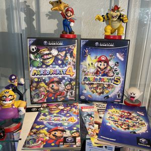 Mario Party 4 And 5 Complete Nintendo Gamecube for Sale in Oak Park, CA