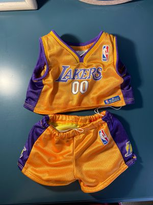Build-a-Bear Lakers Jersey for Sale in Downey, CA