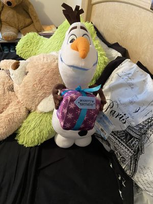 Olaf Stuffed Animal for Sale in Norfolk, VA