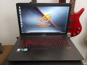Asus 17in ROG i7 gaming notebook for Sale in Colorado Springs, CO
