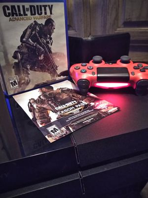 PS4 SONY RED CONTROL 2 GAMES for Sale in Austin, TX