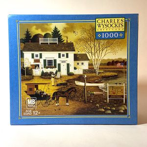 "Wysocki Jigsaw Puzzle ""The Birch Point Cove"" for Sale in San Antonio, TX"