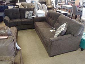 Grey Fabric Sofa & Loveseat W/ Accent Furniture for Sale in Phoenix, AZ