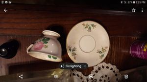 ANTIQUE RAVENSWOOD CUP AND SAUCER SET for Sale in Florence, MS