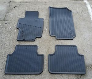 2004 -2008 Acura TSX black all season rubber floor mats for Sale in Los Angeles, CA