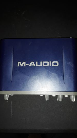 M-audio fast track pro for Sale in Glendale, AZ