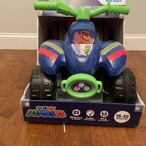 Toddler Quad Ride On Toy - New - PJ Masks for Sale in Greer, SC