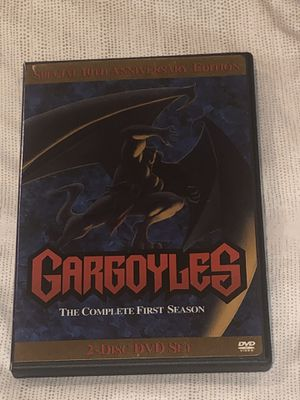 """Gargoyles The Complete First Season 1 DVD 2-Disc 10th Anniversery Ed Excellent. Condition is """"Like New"""". Shipped with USPS First Class. for Sale in Miami, FL"""