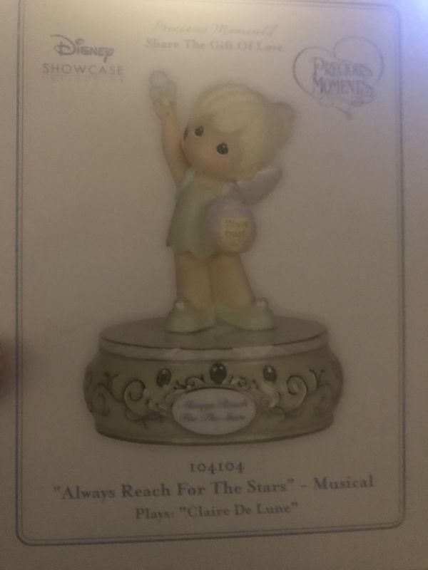 Tinker bell precious moments music box collection edition