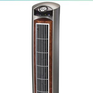 """Lasko Wind Curve Portable Electric 42"""" Oscillating Tower Fan with Fresh Air Ionizer, Timer and Remote Control for Indoor, Bedroom and Home Office Use, for Sale in Chandler, AZ"""
