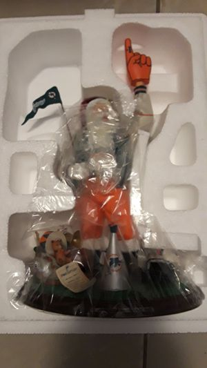 Miami Dolphins Santa Claus statue for Sale in Homestead, FL