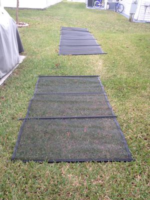 48 ft pool fence black for Sale in Pompano Beach, FL