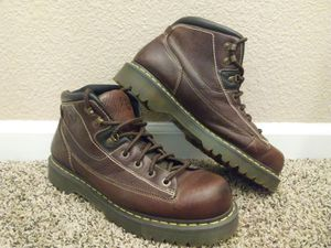 Men's Size 13M Dr. Martens 9A54 Brown Leather Boots for Sale in Modesto, CA