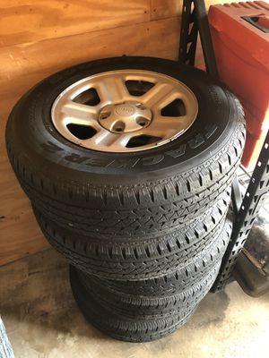 Stock Jeep Wrangler wheels for Sale in Cypress Gardens, FL