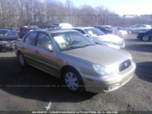 2003 HYUNDAI SONATA GL 2.7L. 741588 Parts only. U pull it yard cash only. for Sale in Hillcrest Heights, MD