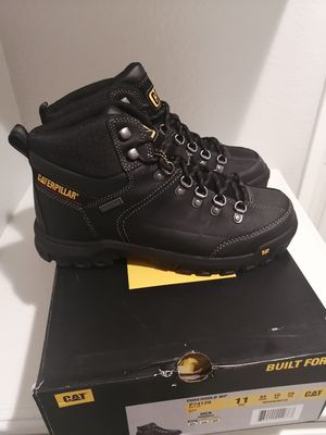 Brand new Caterpillar work boots for men. Size 11. Soft toe. Waterproof. for Sale in Riverside, CA