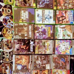 GAMES!!GAMES!!GAMES!! PS2 PS3 Xbox 360 Xbox 360 Live Sega!! for Sale in Mount Vernon, WA