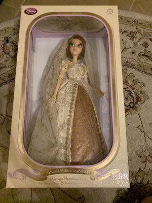 Limited edition rapunzel wedding doll for Sale in Spring, TX