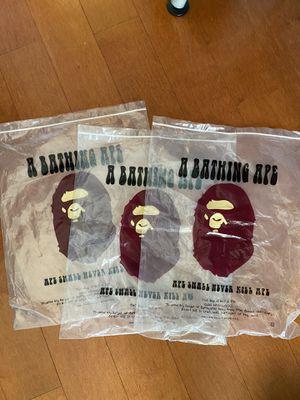 Bape dust bags for Sale in Brea, CA