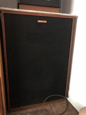 Klipsch Vintage Speakers Set of Two for Sale in Pittsburgh, PA
