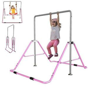 Gymnastics Bar Expandable Folding Rack for Kids Home Gym Exercise Equipment for Sale in Los Angeles, CA