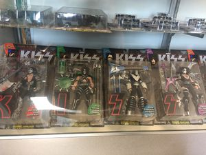 Kiss McFarlane Action Figures. for Sale in Greenbrier, TN
