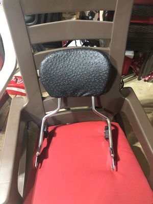 Detachable Sissy Bar Passenger Backrest & Rack For Harley Davidson for Sale in Monroe, MI
